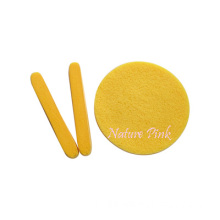 PVA Facial Washing Cleaning Sponge Finger Compressed NWH-01Y