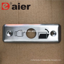 Stainless Steel Plate For 16mm Metal Push Button Switch