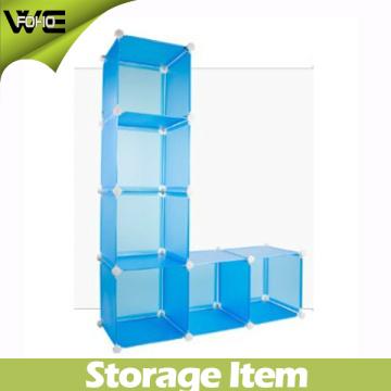 Cubo de armazenamento de exibição azul bonito (FH-AL0025)