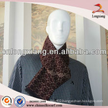 High Quality Men Chocolate Silk Scarf