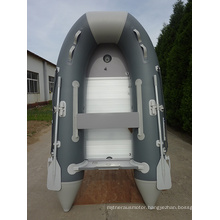 Small River Inflatable Motor Boat
