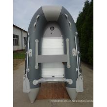 Rio pequeno barco de Motor inflável