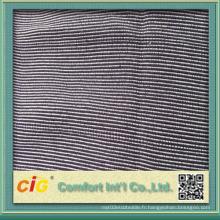 Tissu de motif géométrique pour la housse de siège de voiture de bus de canapé