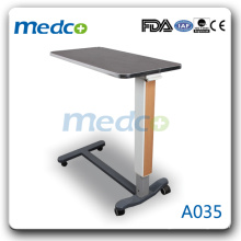 A035 Removable hospital bed overbed table