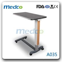 горячий ! Передвижная прикроватная столик для больницы A035