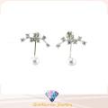 Good Quality & Fashion Jewelry 3A CZ 925 Silver Earring (E6540)