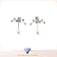 Хорошее качество & ювелирные изделия способа 3A CZ 925 серебряная серьга (E6540)