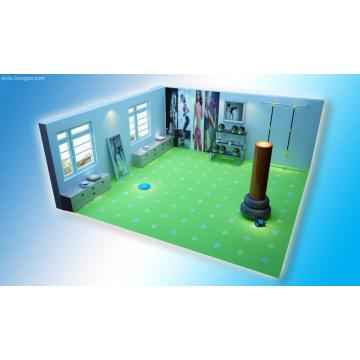 3D Print PVC Floor for Gym