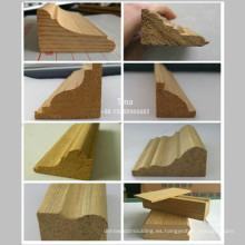 Moldura de marco de puerta moldura de madera