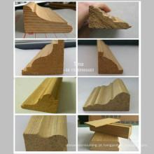 Moldagem de madeira