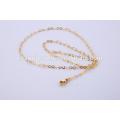 Оптовые Последние ювелирные ожерелье из нержавеющей стали Золотая цепь BSL004-3