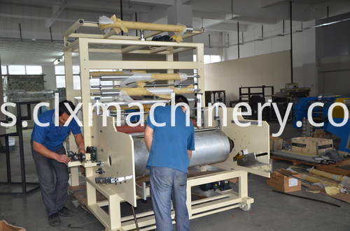 Stretch Warrping Film PE Machinery