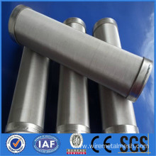 Stainless steel metal filter element