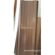 Wooden Plastic Folding Sliding Door Without Glass