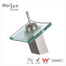 Haijun High Quality 0.1~1.6MPa Single Handle Deck-Mounted Glass Basin Faucet