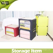 Bra and Collapsible Underwear Organizer Fabric Clothes Storage Bins