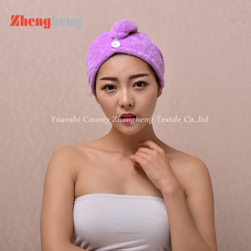 Coral Fleece Hair Cap (6)