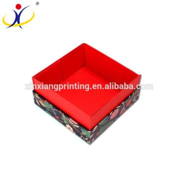 Cardboard Mooncake Gift Boxes Cosmetics Display Box Packaging