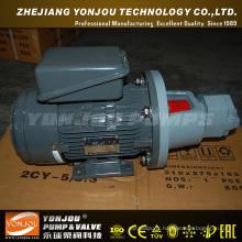 Pompe à huile hydraulique simple à haute pression actionnée par moteur électrique de Bbg