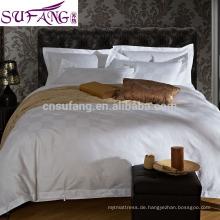 Alibaba China Suppiler hohe Qualität lange Staple Baumwolle Bettlaken, luxuriöse Bettwäsche-Sets