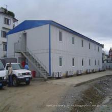 Construcción de acero modular para solución de alojamiento