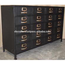 Vintage Industrial Drawer Cabinet Caster Wheels