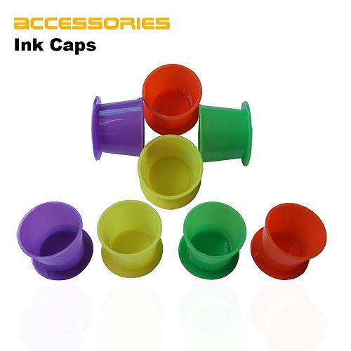 Красочные Чернила Татуировки Чашки
