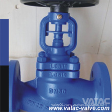 Cast Iron Bellow Sealed Globe Valve with RF Flange