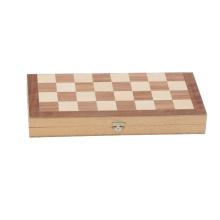 Backgammon de madera y juego de ajedrez (CB2548)