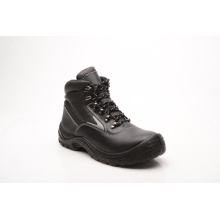 Hot Sell Casual Style Smooth Leather Safety Shoes (HQ03054)