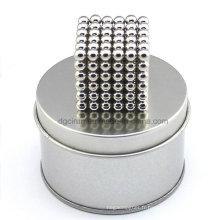 216PCS 5mm Permanent NdFeB sphérique magnétique boules Neocube