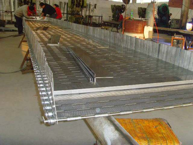 Chain Plate Conveyor Mesh Belt