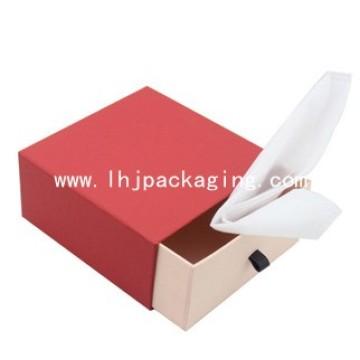 Caja de papel de velas de cajones personalizadas