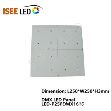 16 LEDs DMX 512 RGB Kit de paneles LED