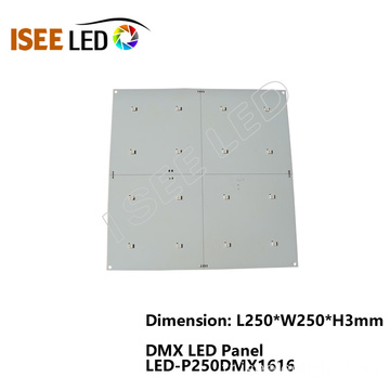 16 LED DMX 512 RGB LED Panel Seti