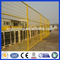 DM High quality factory price powder coated Canada temporary fence with square tube for sale