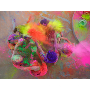 Cornstarch vibrantcolor Safe fun bubuk warna Holi