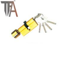 Golddruck Einseitiger offener Schließzylinder