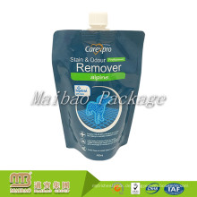 Multifunktionale laminierte Kunststoff nach Maß Stand-up Liquid Package Auslauf Top Screw Cap Beutel