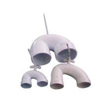 Moule en PVC moulé-U piège