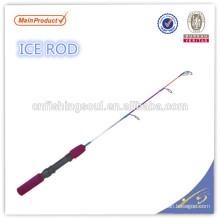 ICR058 graphite canne à pêche blanche canne à pêche weihai oem carbone glace canne à pêche