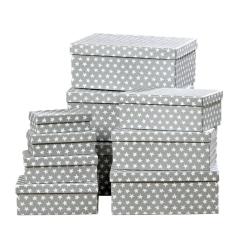 Star Box Decorative Storage Stacking Gift Boxes