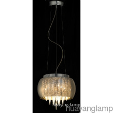 Residential HIght Quality Glass Crystal Hotel Home Pendant  Lamp