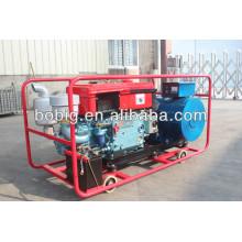 Générateur diesel à un seul cylindre refroidi par eau
