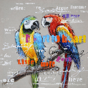 Animal Canvas Wall Art for Parrot