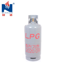South Korea market hot selling 20kg cooking empty lpg propane gas cylinder