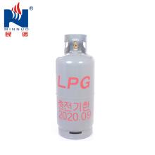 Coréia 20 kg (48L) vazio cilindro de gás GLP com válvula para venda