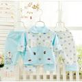 100% Cotton 3PCS Newborn Printed Baby Suit