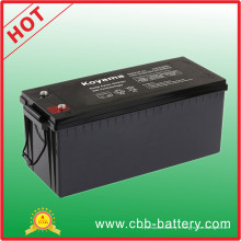 De Bonne Qualité batterie profonde de gel de batterie de cycle de 210ah 12V pour le véhicule électrique