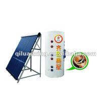 dividir el tubo de vacío calentador solar de agua